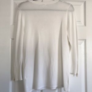 Calvin Klein Sweaters - Calvin Klein lace up sweater with gold details